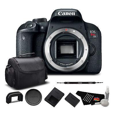 Canon EOS Rebel T7i Digital SLR Camera (Body Only) Bundle (1894C001)