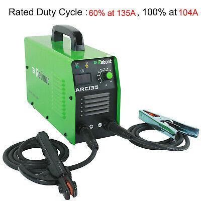110v220v Mini Arc 135 Welding Machine Dc Igbt Inverter Mma Stick Welder Gift Us