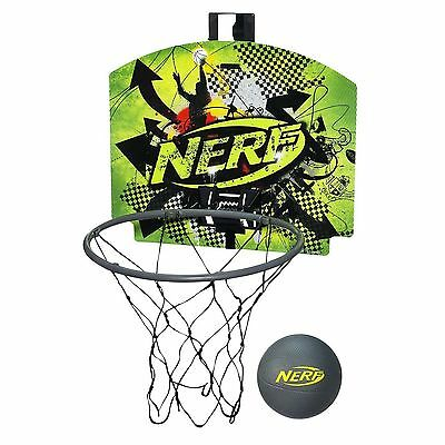 Brand New NERF Sports NERFOOP Set ~ Basketball GREEN
