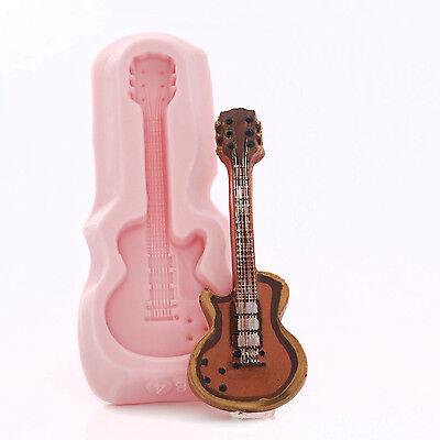 Глинистые формы Guitar Silicone Mold Food