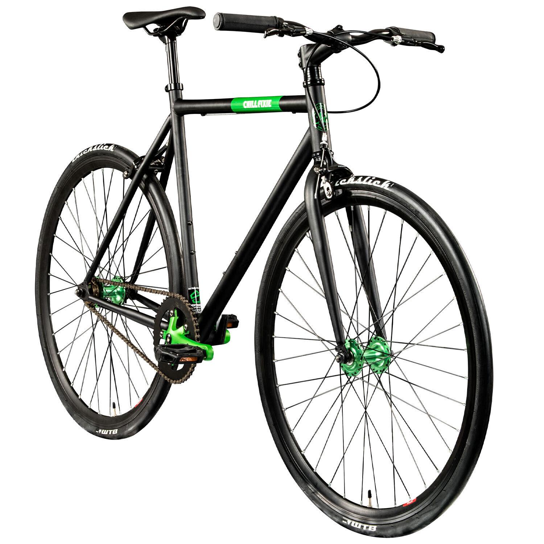 "Singlespeed 700c Fixie Bike retro Fahrrad Fitnessbike Chill Fixie 28"" Rennrad"