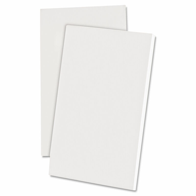 Ampad Scratch Pad Notebook Unruled 3 x 5 White 100 Sheets Dozen 21730