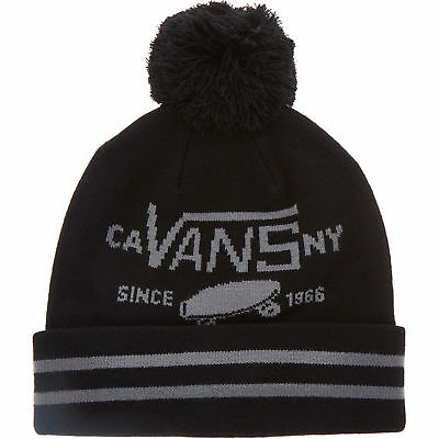 VANS Men's M Fullpatch II Beanie Hat, Black, One Size