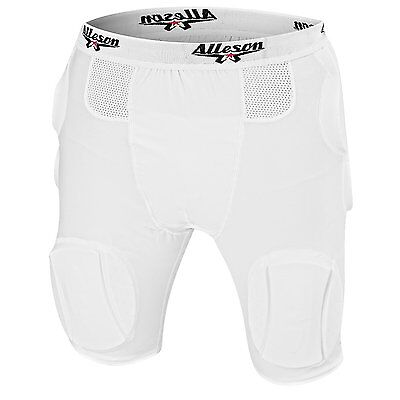 Alleson Athletics Youth Integrated 5 Pocket Football Girdle With Pads -