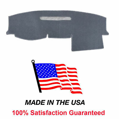 Gray Dash Mat Compatible w/ 2005-2007 Dakota Truck Dodge Dash Cover USA Made