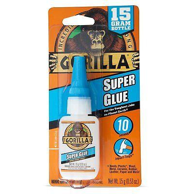 Gorilla Glue 7805001 Super Glue 15 G Clear