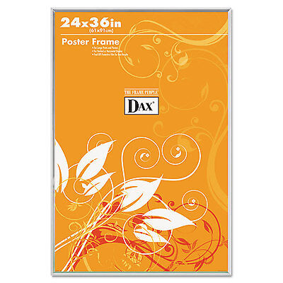 U-Channel Poster Frame, Contemporary Clear Plastic Window, 2