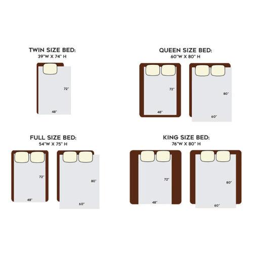60 x 80″ Weighted Blanket Double Inner Layer Keeping Warm Gray Deep Sleep 20lbs Bedding