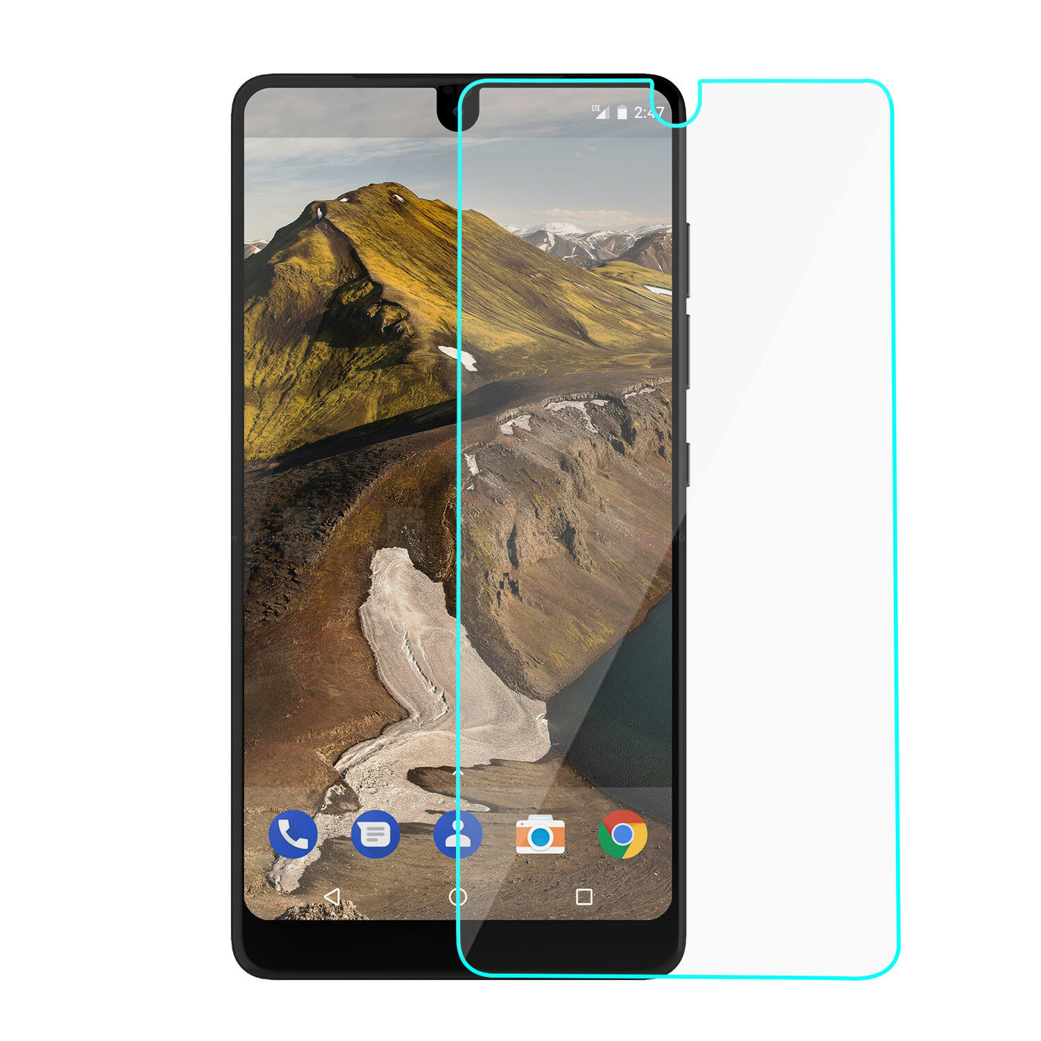 Essential Phone PH-1 case, with Design Slim Protective(VGC) and Screen protector