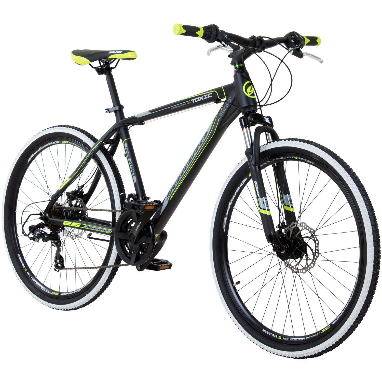 Mountainbike 26 Zoll Hardtail MTB Galano Toxic Jugend - Rad - Fahrrad 21 Gang