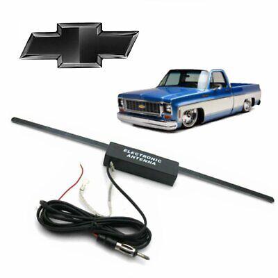 1973-87 Chevy C10 Pickup Stereo Hidden Stealth FM Radio Signal Antenna gmc loc Gmc K15 Antenna