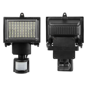 2x Solar Powered Motion Sensor Security Flood Light 100 LED Garden Lamp  Outdoor 62cbb1bddd59