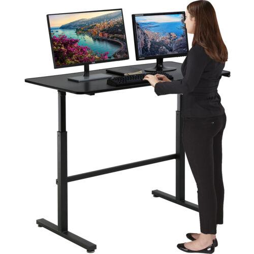 Standing Desk Converter Height Adjustable Desk Computer Workstation  Desk  Black