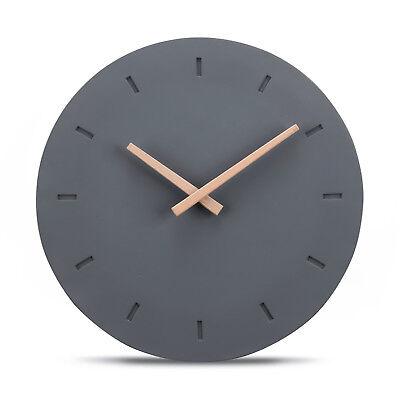 Cander Berlin MNU 6130 Designer Wanduhr Uhr Beton lautlos kein Ticken 30,5 cm