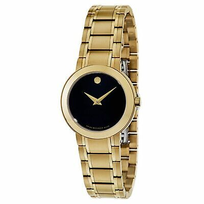 Movado 0606942 Women's Sapphire Gold-Tone Quartz Watch