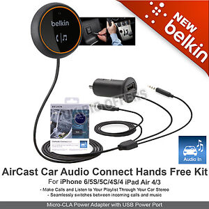 belkin car audio connect instructions
