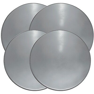 Stainless Steel Round Electric Kitchen Stove Range Top Burner Covers Set of 4