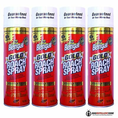 Bengal Gold Roach Spray (4-Pack) Model #92464  BEST Roach Killer (Best Insect Killer Spray)