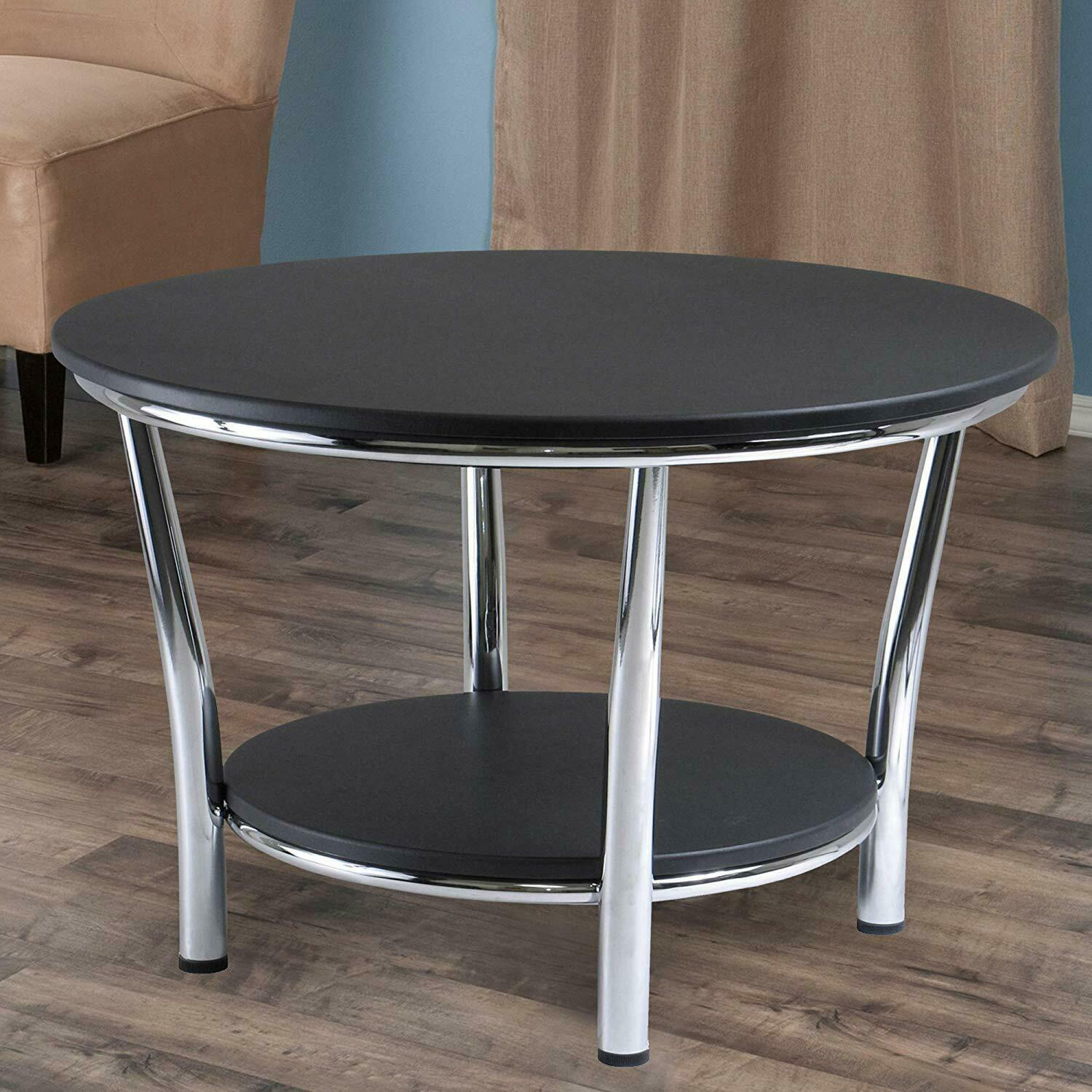 Coffee Table Winsome Wood 93230 Maya Occasional Table, Black