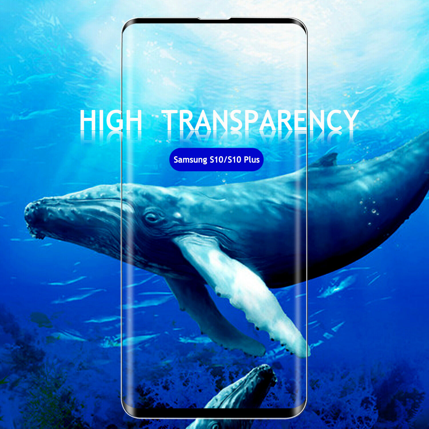 For Samsung Galaxy S10 Plus/S10 Tempered Glass Screen Protec