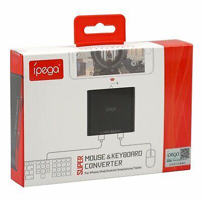 Tastatur Konverter Kabel (PUBG Mobile Gaming iPega PG-9116 Kabelloser Tastatur-Maus-Konverter für Android)
