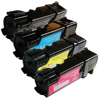 New Black Cyan Yellow Magenta Laser Toner Cartridge Set for Dell 1320c - Black Cyan Yellow Magenta Laser