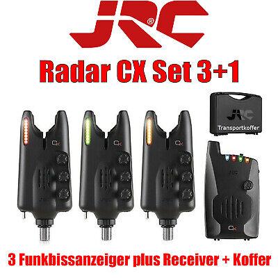 JRC Radar CX Set 3+1 Funkbissanzeiger Set Ampelfarben 3+1 inkl. Transportkoffer