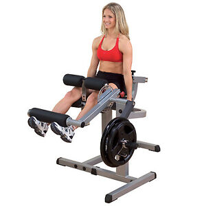 Body-Solid GCEC340 CAM Seated Leg Extension & Curl Lower Body Strength Machine