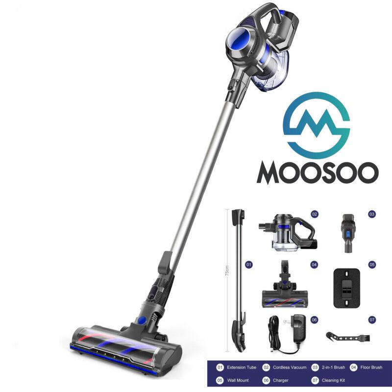 MOOSOO XL-618A Cordless Vacuum 10Kpa 4 in 1 Stick Handheld Vacuum Cleaner Pet US