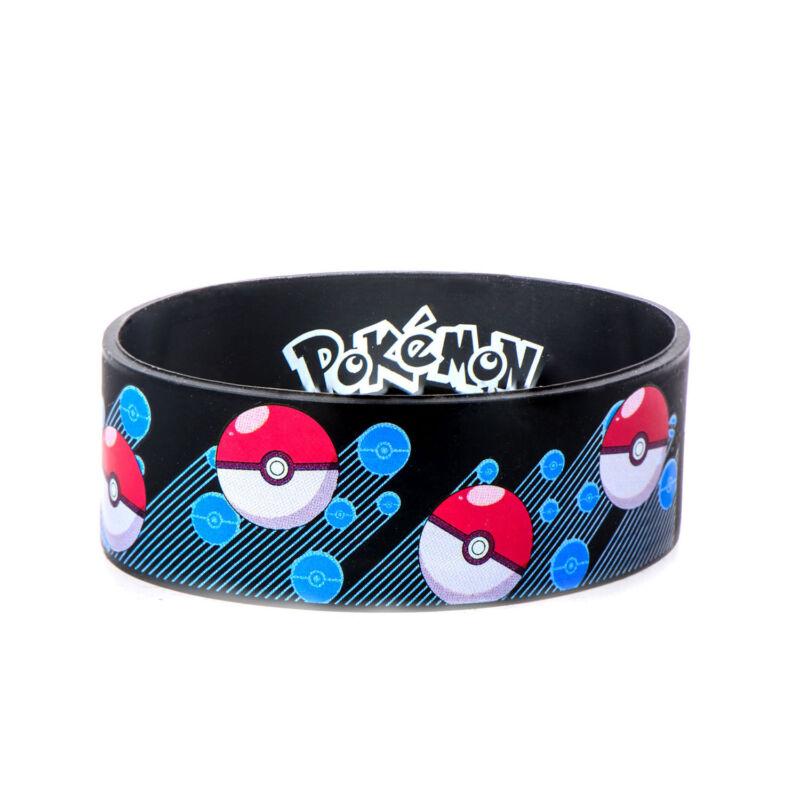 Pokemon Pokeball Youth Silicone Bracelet