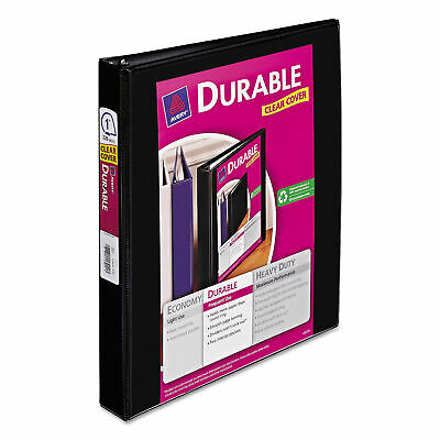 """2-PACK Avery Durable 1""""Slant D 3-Ring Binder Black Office Inch Sheet Paper Three"""