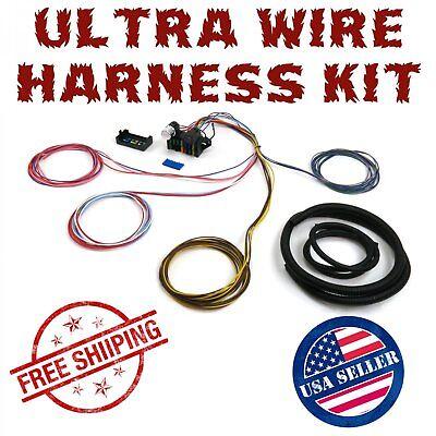 1962 - 1967 Chevrolet Nova Chevy II Wire Harness Fuse Block Upgrade Kit