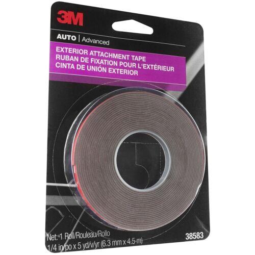 3M 38583 1/4' x 15' Exterior Attachment Tape
