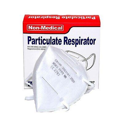 10X FFP2 Atemschutzmaske, ISN mask2 - staubdicht, einzeln verpackt