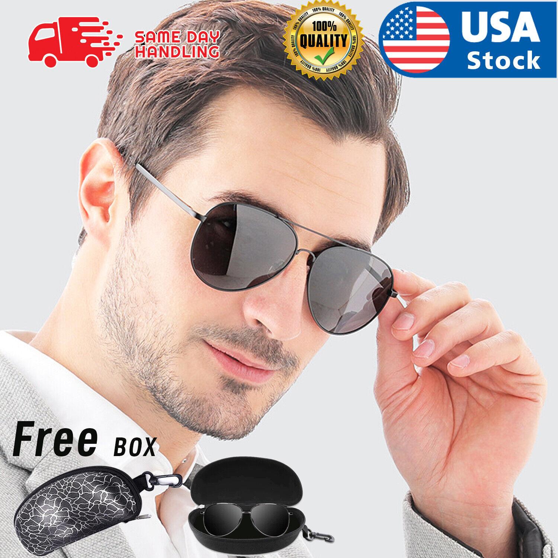 Fashion Pilot Polarized Sport Sunglasses Running Fishing Driving Anti-UV Glasses Clothing, Shoes & Accessories