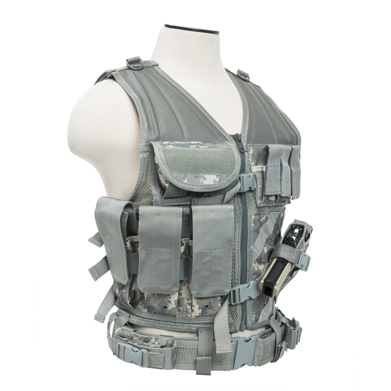NcSTAR VISM Tactical Vest, Digital Camo ACU
