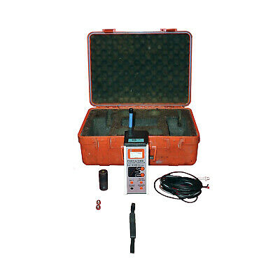 Schonstedt Portacorr Lc-2100 Subsurface Leak Noise Correlator Detection Pre-amp