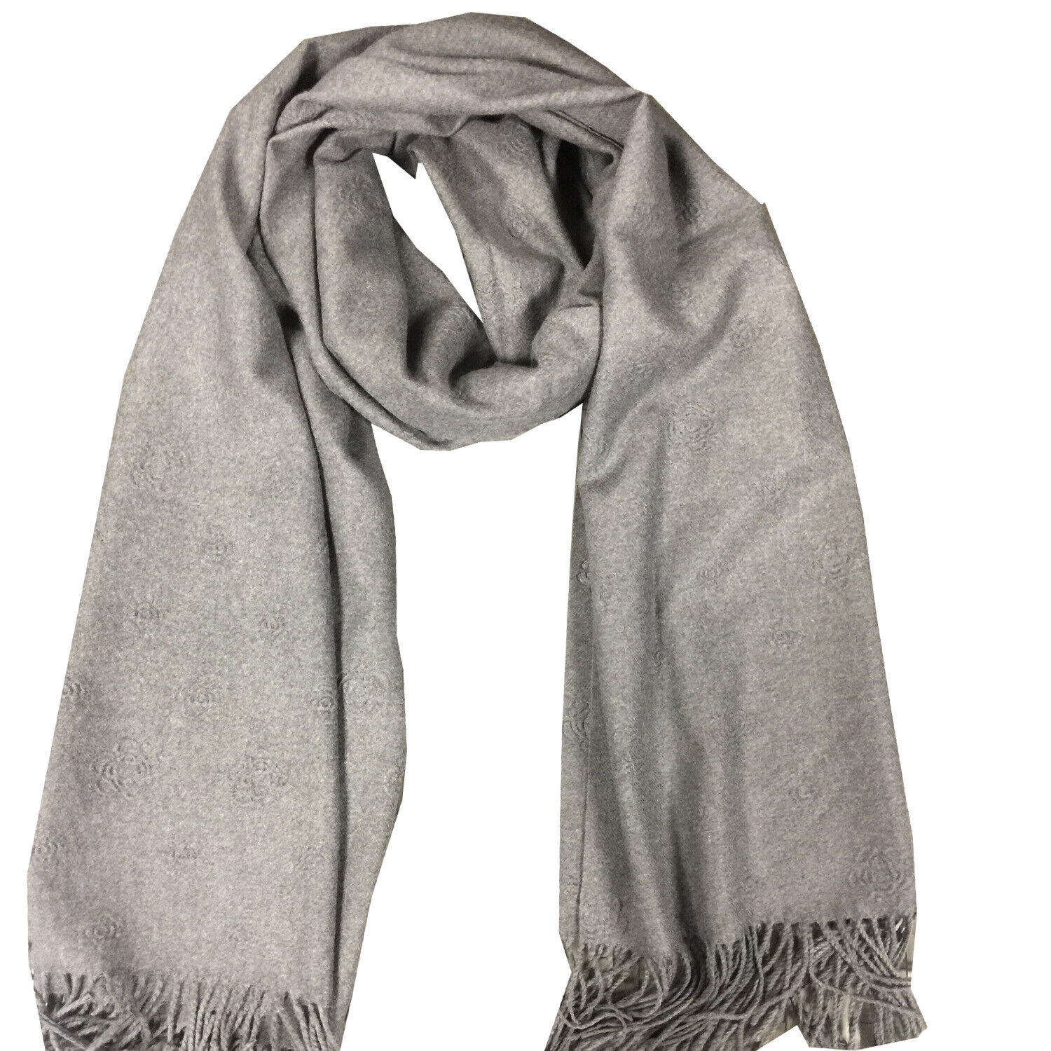 Cashmere Women Fashion Big Size Cashmere Scarf with Embossing Texture Warm Scarf Clothing, Shoes & Accessories