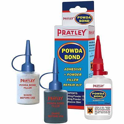 Pratley Powda Bond - Adhesive And Powder Filler Repair Kit