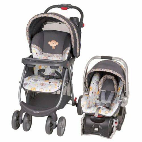 Baby Trend Stroller with Car Seat Travel System Combo Set