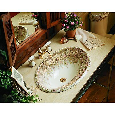 KOHLER NEW EXCLUSIVE DESIGN TALE OF BRIAR ROSE BATHROOM PACKAGE