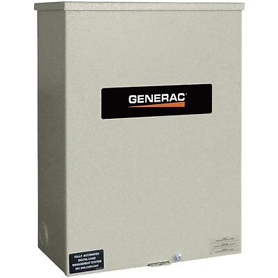 Generac Rtsn400k3 Guardian 400-amp 3-phase Automatic Transfer Switch 277480v
