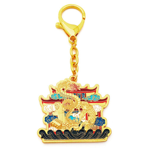 Dragon Gate Keychain for Success - FENG SHUI LUCKY AMULET