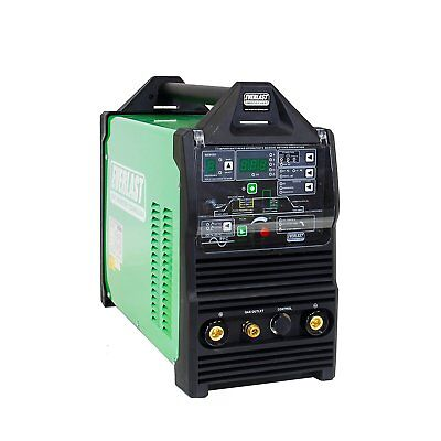 Powertig 210ext Gtaw-p 200amp Acdc Tig Stick Advance Pulse Welder Everlast