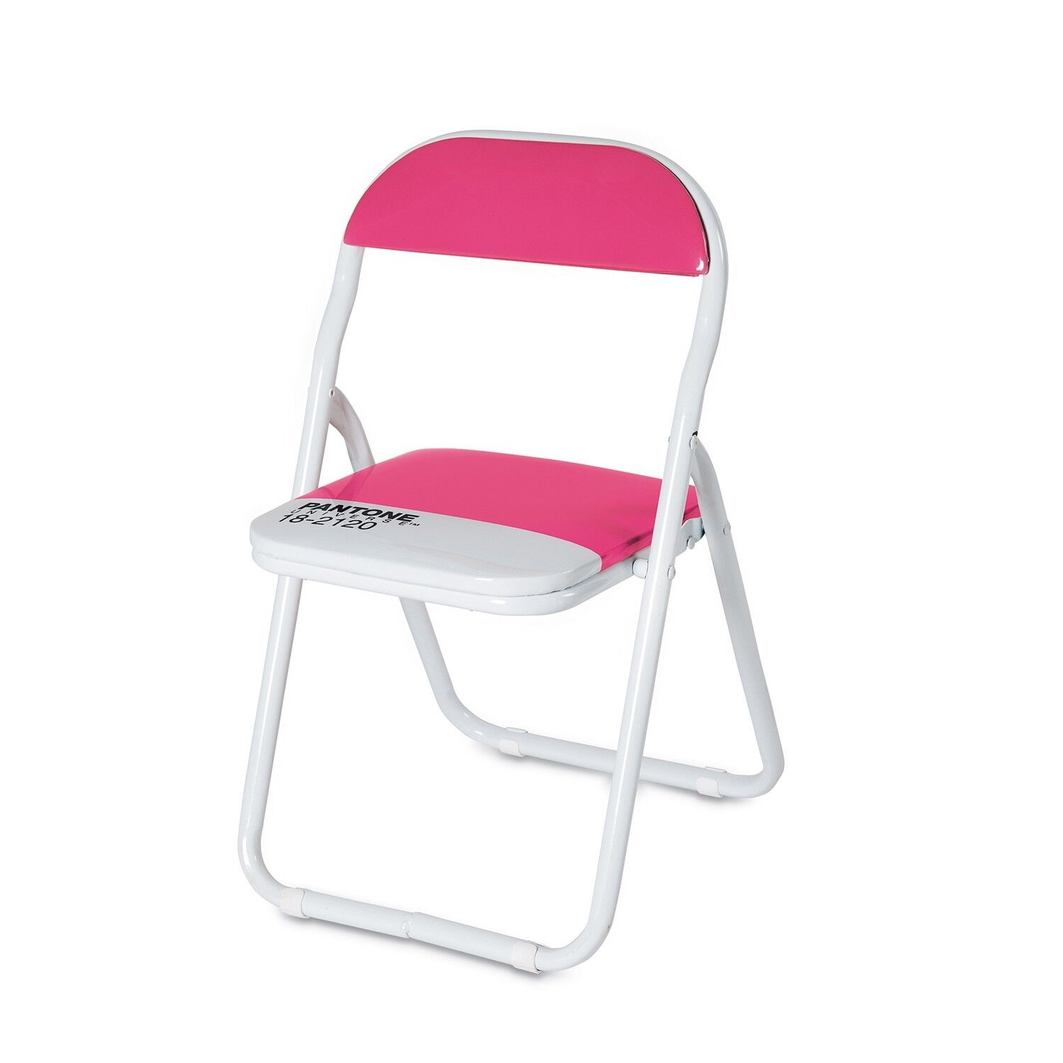 Pink Pantone Metal Folding Chair Honeysuckle 18 2120 Pantone Home fice