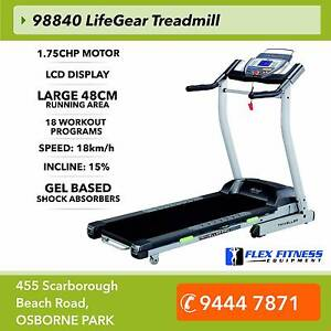 New Treadmill 1.75CHP, with 15 Levels Auto Incline, 48cm WideDeck Osborne Park Stirling Area Preview