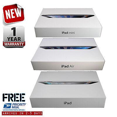 New Apple iPad Air-mini-1-2-3-4 128GB-64GB-32GB-16GB Wi-Fi+4G 9.7in 7.9in Tablet