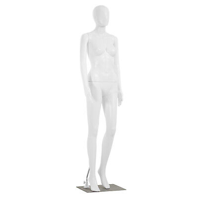 69 Inch Female Mannequin Full Body Dress Form Sewing Dress Model Adjustable