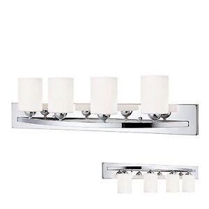 Vanity light bar ebay chrome 4 globe vanity bath light bar interior lighting fixture aloadofball Images