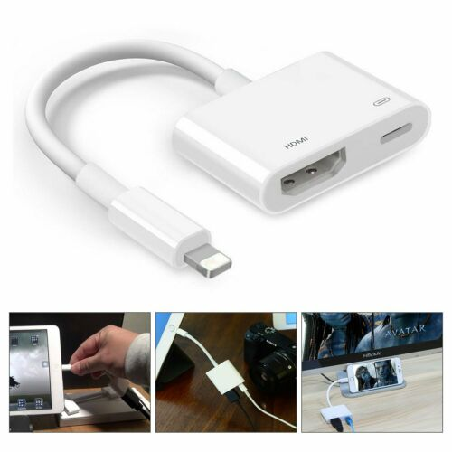 GüNstig Einkaufen Lightning To Hdmi Digital Av Tv Adapter Cable For Apple Iphone 6 7 8 Plus X Ipad Audiokabel & -adapter Computer, Tablets & Netzwerk